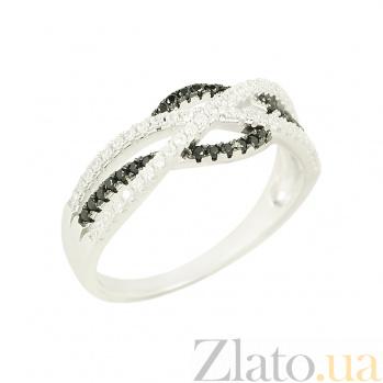 Серебряное кольцо с фианитами Барбара 3К543-0168