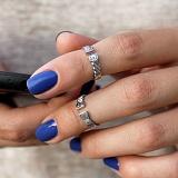 Серебряное кольцо на фалангу Kord I`m 482