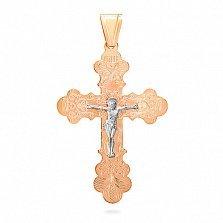 Золотой крестик Сила любви