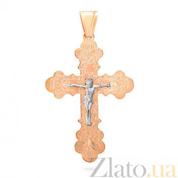 Золотой крестик Сила любви SUF--515501р
