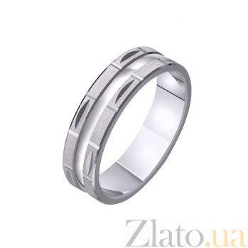 Золотое обручальное кольцо Сияние TRF--411201