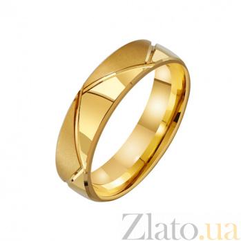 Золотое обручальное кольцо Исполнение мечты TRF--431275