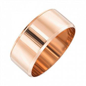 Обручальное кольцо из красного золота 000103676