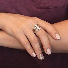 Серебряное кольцо с цирконием Анара
