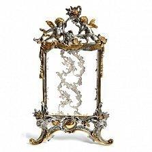 Серебряная рамка для фотографий Ангелочки