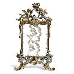 Серебряная рамка для фотографий Ангелочки 000008725