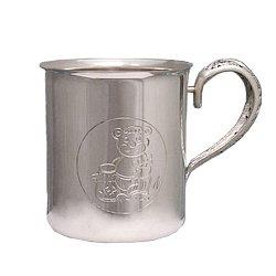Серебряная кружка Мишутка