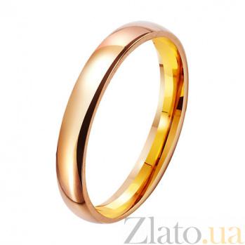 Золотое обручальное кольцо Beautiful wedding TRF--411236