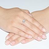 Кольцо золотое Мадемуазель