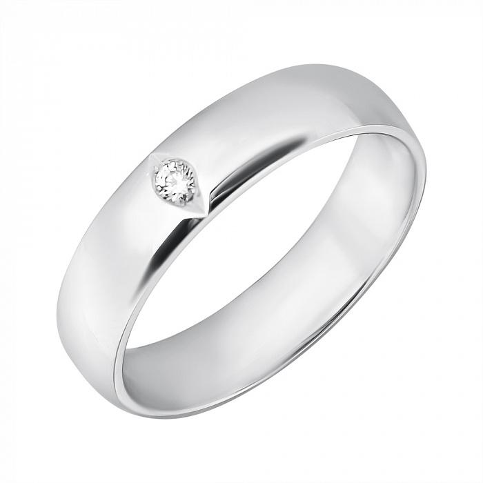 Золотое обручальное кольцо Сияние сердца TRF--4221110
