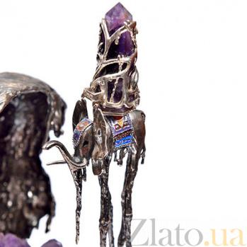 Серебряная композиция Дали - Сафронов 1-0012
