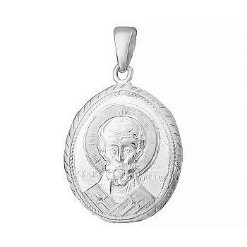 Серебряная ладанка Покровитель 000025363