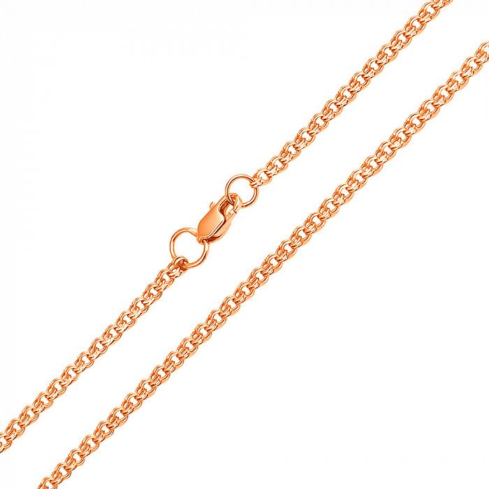 Золотая цепочка Бисмарк, 2,5мм EDM--Ц013-1