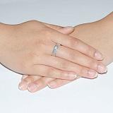 Обручальное кольцо Любовная магия с бриллиантом