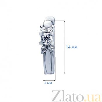 Сережки с бриллиантами Emmie AQA-210195