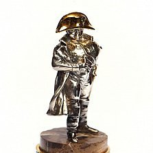 Серебряная статуэтка с позолотой Бонапарт