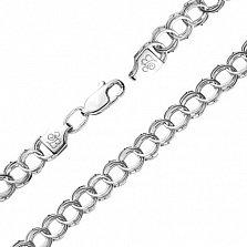 Серебряная цепь Анталия, 4,5 мм