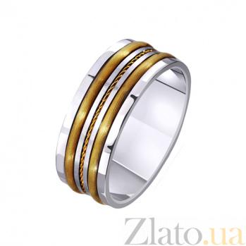 Золотое обручальное кольцо Звезда любви TRF--4411448