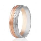 Золотое обручальное кольцо Признание в любви