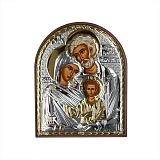 Икона Святое семейство, 85х105мм
