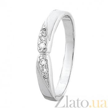 Кольцо из серебра с цирконием Эрма 000028057