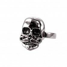 Кольцо из серебра Barry с чернением