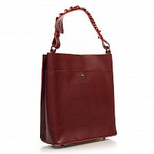Сумка На Каждый День Italian Bags 8965_bordo Кожаная Бордовый
