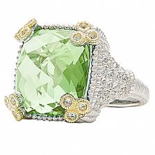 Кольцо Ashkenazi с берилом и бриллиантами