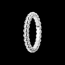 Кольцо из белого золота Perlée малая модель