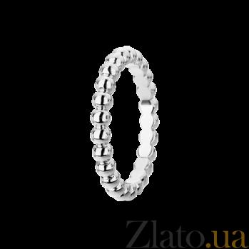 Кольцо из белого золота Perlée малая модель R-VCA-Perlée-W-little