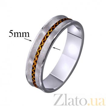 Золотое обручальное кольцо Счастливое мгновение TRF--4411375