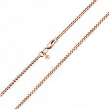 Золотая цепь Прованс панцирного плетения с алмазной гранью, 2мм