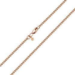 Золотая цепь панцирного плетения с алмазной гранью, 2мм 000007401