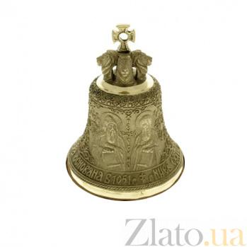 Большой бронзовый колокольчик Киево-Печерская Лавра K3101