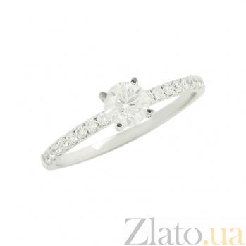 Золотое кольцо с бриллиантами Фелисия 1К034-1014