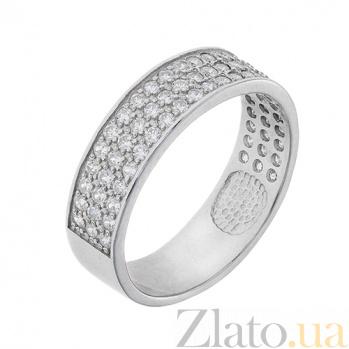 Серебряное кольцо с фианитами Гармония AUR--81511б