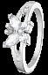 Серебряное кольцо с фианитами Butterfly 000025740