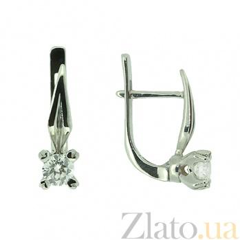 Золотые серьги с бриллиантами Фидель ZMX--ED-6749w_K