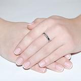 Золотое кольцо с бриллиантом Севилья