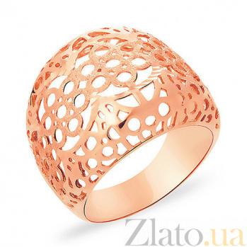 Кольцо из красного золота Оранжерея SUF--153498