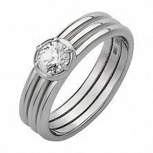 Серебряное кольцо Гофре