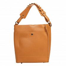 Сумка На Каждый День Italian Bags 8965_cuoio Кожаная Коньячный