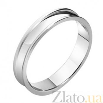 Золотое обручальное кольцо Аморе KBL--К1665/бел