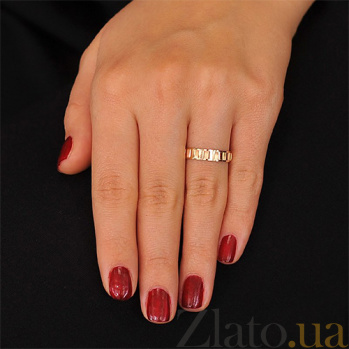 Золотое обручальное кольцо Мэри Энн 000001682