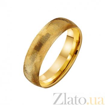Золотое обручальное кольцо Солнце любви TRF--431249
