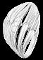 Серебряное кольцо с фианитами Миранда 000025808