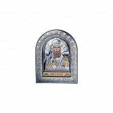 Икона в серебре Спаси и Сохрани