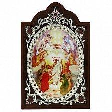 Серебряная икона Воскресение Христа
