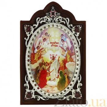 Серебряная икона Воскресение Христа 2.78.0645