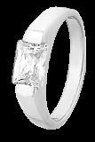 Серебряное кольцо с цирконием Адония